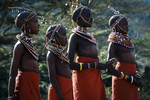 Young Maasai girls